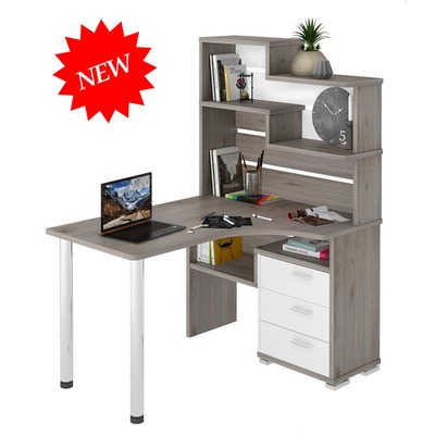 Стол компьютерный СР - 132ДН стол с надстройкой