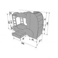 """2-ярусная кровать """"Скания+2"""""""