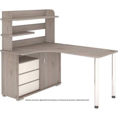 Стол компьютерный СР-165М ДН стол с надстройкой