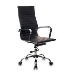 Кресло руководителя Бюрократ CH-883/BLACK черный искусственная кожа крестовина хром №1047687