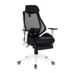 Кресло игровое Бюрократ CH-W770/BLACK черный искусст.кожа/сетка (пластик белый) №1065667