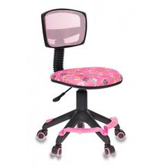 Кресло детское Бюрократ CH-299-F/PK/FLIPFLOP_P спинка сетка розовый сланцы № 1065746