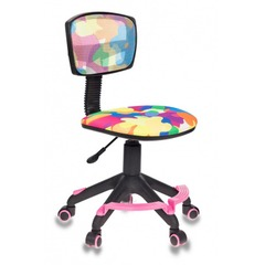 Кресло детское Бюрократ CH-299-F/ABSTRACT спинка сетка абстракция № 1070240