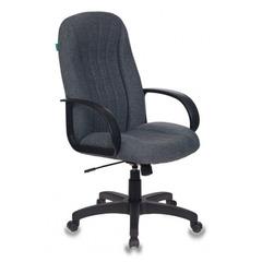 Кресло руководителя Бюрократ T-898AXSN серый 3C1 крестовина пластик № 1070383