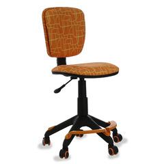 Кресло детское Бюрократ CH-204-F/GIRAFFE подставка для ног оранжевый жираф № 1074954