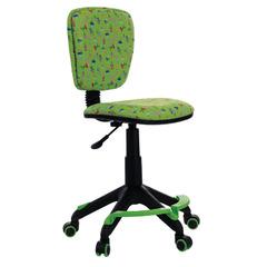 Кресло детское Бюрократ CH-204-F/CACTUS-GN подставка для ног зеленый кактусы № 1074955