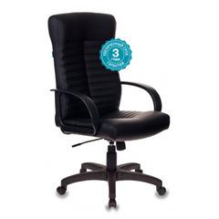 Кресло руководителя Бюрократ KB-10LITE/BLACK черный искусственная кожа №1079069