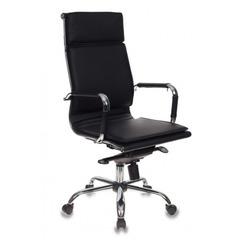 Кресло руководителя Бюрократ CH-993MB черный искусственная кожа крестовина металл хром №1090603