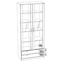 СГ-10  шкаф со стеклом