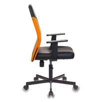 Кресло Бюрократ CH-606/BL+TW-96-1 черный/оранжевый искусст.кожа/ткань   №1110370