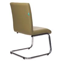 Кресло Бюрократ CH-250-V/KRIT-GREEN на полозьях зеленый искусственная кожа  №  1119493