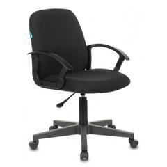 Кресло Бюрократ CH-808-LOW/#B низкая спинка сиденье черный №1128153