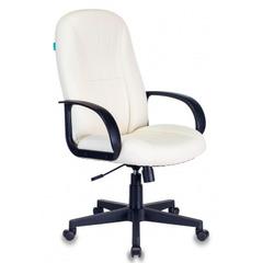 Кресло руководителя Бюрократ T-898/OR-10 молочный искусственная кожа № 1129533