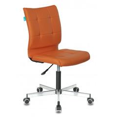 Кресло Бюрократ CH-330M/OR-20 без подлокотников оранжевый сиденье оранжевый искусственная кожа крестовина металл № 1140656