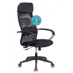 Кресло руководителя Бюрократ CH-608/BLACK спинка сетка черный TW-01 сиденье черный TW-11 № 1141494