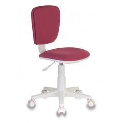 Кресло детское Бюрократ CH-W204NX/26-31 розовый 26-31 (пластик белый) № 1146912