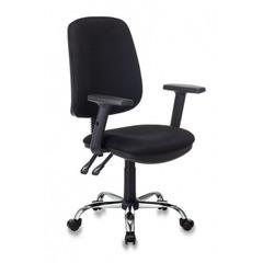 Кресло Бюрократ T-620SL черный TW-11 крестовина металл хром №1156085