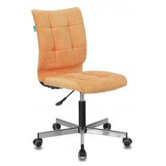 Кресло Бюрократ CH-330M/VELV72 оранжевый Velvet 72 крестовина металл № 1160322