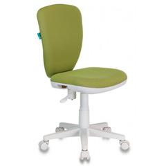 Кресло детское Бюрократ KD-W10/26-32 светло-зеленый 26-32 (пластик белый) № 1162148