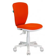Кресло детское Бюрократ KD-W10/26-29-1 оранжевый 26-29-1 (пластик белый) № 1162150