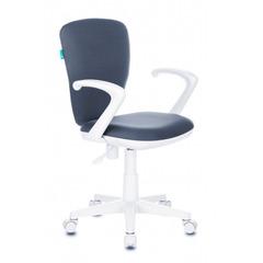 Кресло детское Бюрократ KD-W10AXSN/26-25 серый 26-25 (пластик белый) № 1162186