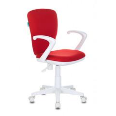 Кресло детское Бюрократ KD-W10AXSN/26-22 красный 26-22 (пластик белый) № 1162187