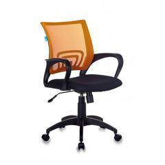 Кресло Бюрократ CH-695N/OR/TW-11 спинка сетка оранжевый TW-38-3 сиденье черный TW-11 № 1163030