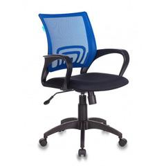 Кресло Бюрократ CH-695N/BL/TW-11 спинка сетка синий TW-05 сиденье черный TW-11 № 1163179