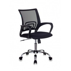 Кресло Бюрократ CH-695N/SL/BLACK спинка сетка черный TW-01 сиденье черный TW-11 крестовина хром № 1164730