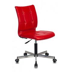 Кресло Бюрократ CH-330M красный Next-13 искусственная кожа крестовина металл хром № 1167087