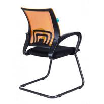 Кресло Бюрократ CH-695N-AV/OR/TW-11 на полозьях оранжевый TW-38-3 сиденье черный TW-11 № 1183802
