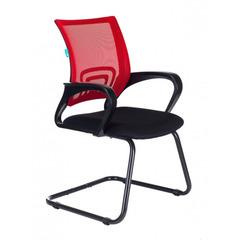 Кресло Бюрократ CH-695N-AV/R/TW-11 на полозьях красный TW-35N сиденье черный TW-11 № 1183805