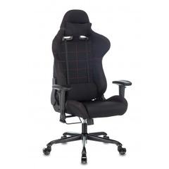 Кресло игровое Бюрократ Zombie 771N черный с подголов. крестовина металл черный №1210452