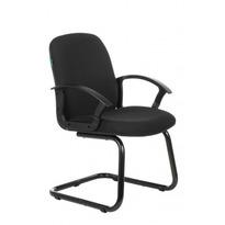 Кресло Бюрократ CH-808-LOW-V/#B низкая спинка черный №1216423