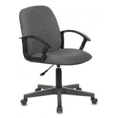 Кресло Бюрократ CH-808-LOW/#G низкая спинка серый   №1216426