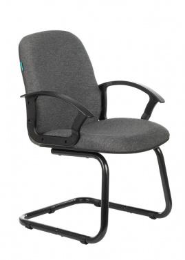 Кресло Бюрократ CH-808-LOW-V/#G низкая спинка серый  № 1218094