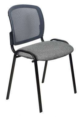 Стул Бюрократ ВИКИ/ТСЕР спинка сетка серый TW-04 сиденье серый 3C1 № 1358111