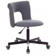 Кресло Бюрократ KF-1M серый 26-25 крестовина металл черный № 1473662