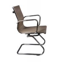 Кресло Бюрократ CH-993-Low-V золотистый сетка низк.спин. полозья металл хром №813066