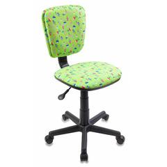 Кресло детское Бюрократ CH-204NX/CACTUS-GN зеленый кактусы № 482817