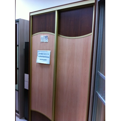 Шкаф-купе 1200/2300/600 гнутые элементы с витрины