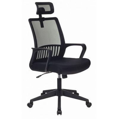 Кресло Бюрократ MC-201-H/TW-11 спинка сетка черный TW-11 №1067269