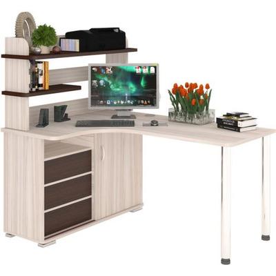 Стол компьютерный СР - 145СМ с надстройкой