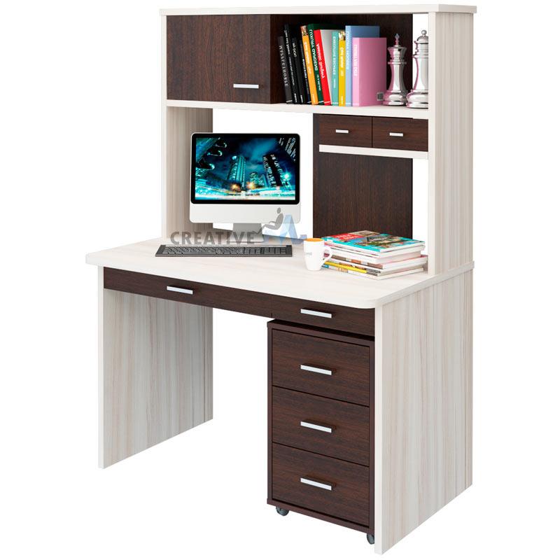 """Компьютерный (письменный) стол с надстройкой ск-60 (ф-ка """"мэ."""