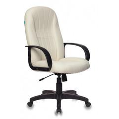 Кресло Бюрократ Т-898 (иск.кожа, черный/белый)